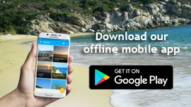 Halkidiki Travel Mobile App - works without internet connection