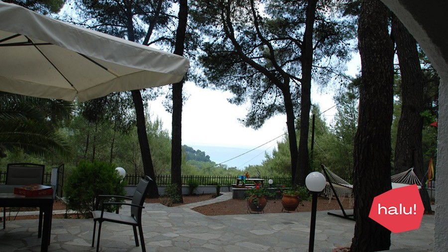 Villa Clementine with sea view in Sani