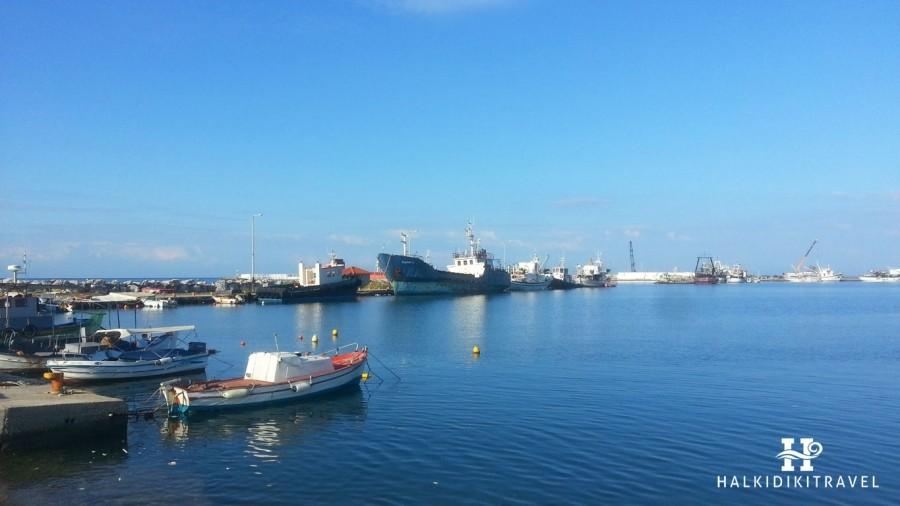 Where the best sea in Nea Moudania