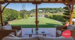 Villa Jasmine with pool & tennis court in Sani