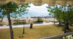 Beach front Apartment: Nea Potidea