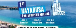 1st European Hayabusa Meeting