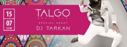 DJ Tarkan at Talgo Beach Bar