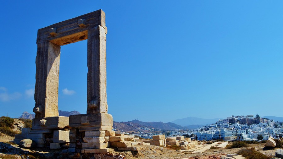 Naxos Island in Cyclades