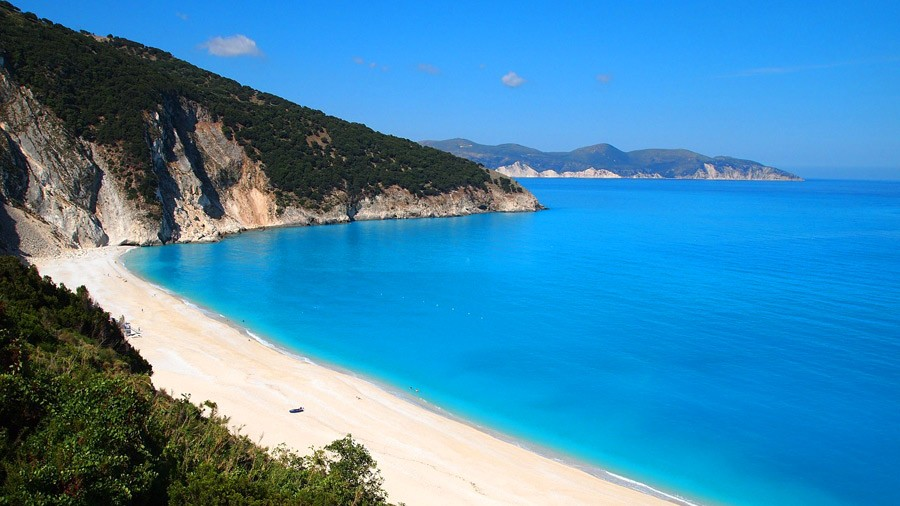 Kefalonia Island in Ionion