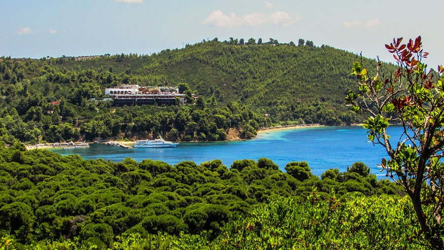 Sporades Islands in Aegean