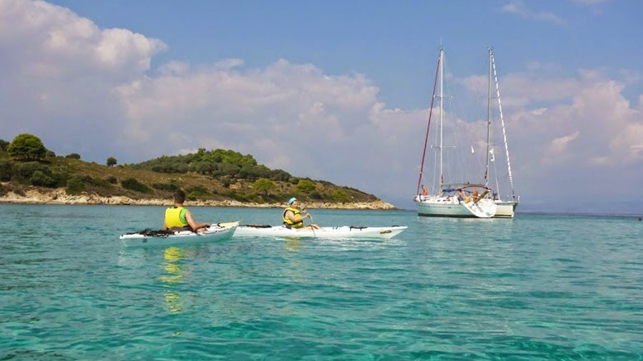 Sea Kayak Chalkidiki